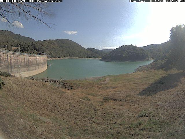 Webcam Spoleto, Diga di Arezzo - Consorzio della Bonificazione Umbra